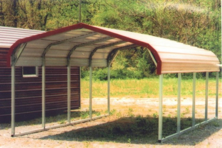 Metal Carports For Firewood Storage