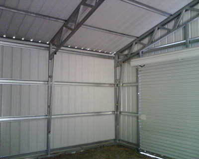 Metal Shed Roof Design